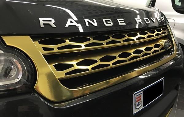 Range Rover Gold
